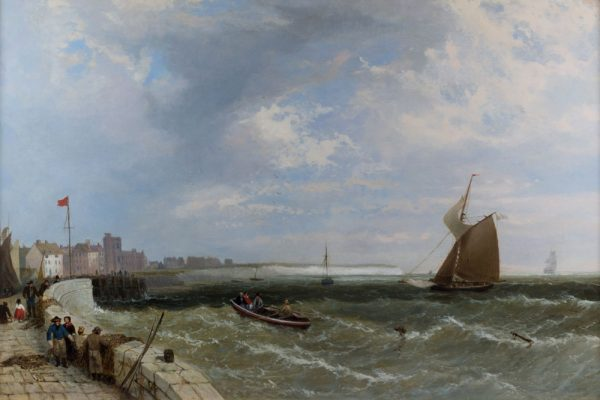 A Kentish Harbour by James Meadows