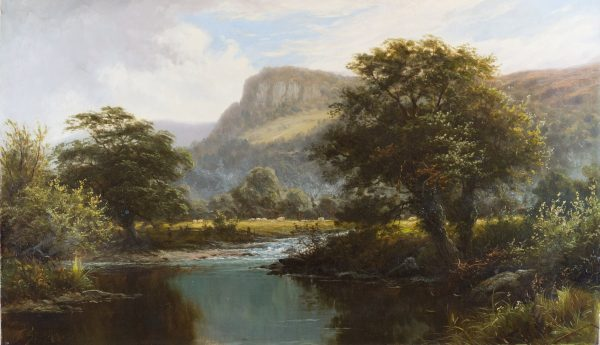 Near Bettws-y-Coed, North Wales by Thomas Spinks