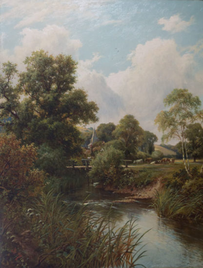 View near Frome by HENRY MAIDMENT