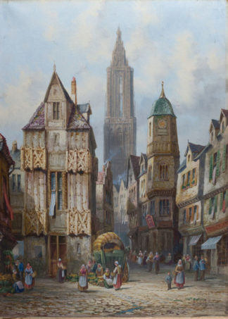 Strasburg Alsace by Henry Shafer