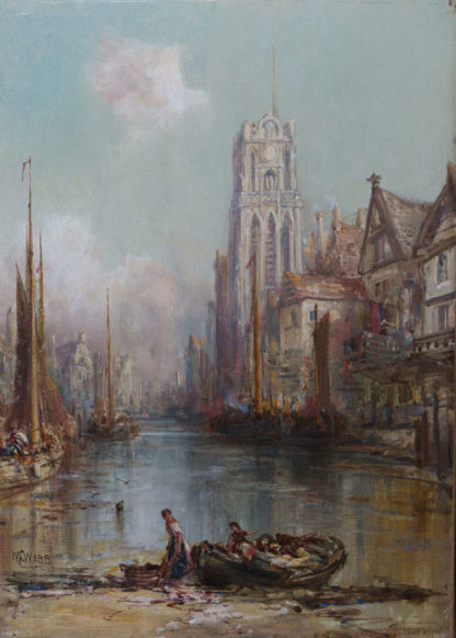 View in Rotterdam by William Edward Webb