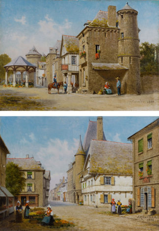 At Combourg, Brittany by John Mulcaster Carrick