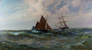 Breeze and Tide by Edwin Ellis