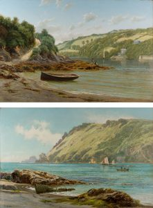 Off the Coast by Frederick William Hayes