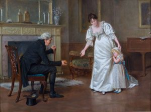 Winning her Over by George Goodwin Kilburne
