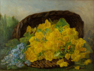 Marsh Marigolds by Eloise Harriet Stannard