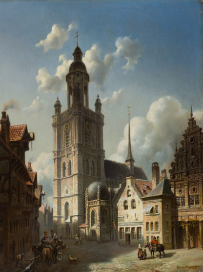 A Continental City by Franz Stegmann