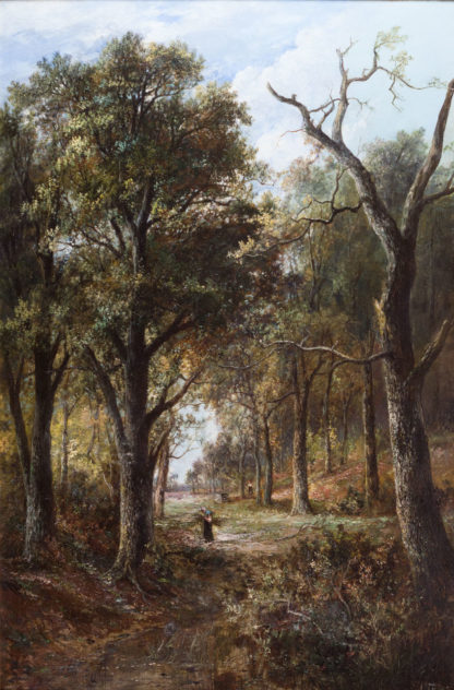 Path through the Woods by Joseph Thors