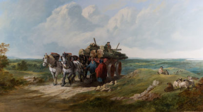 The Timber Wagon by Henry Charles Wollett