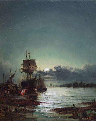A Starlit Evening by William Anslow Thornley
