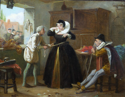 The Lady's Tailor HENRY STACY MARKS