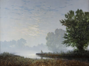 A Tranquil Evening's Fishing GERALD COULSON