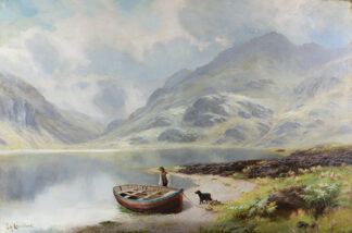 A Scene in the Lakes JAMES HENRY CROSSLAND