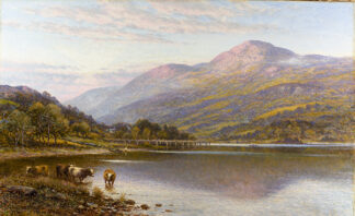 A View in North Wales ALFRED AUGUSTUS GLENDENING