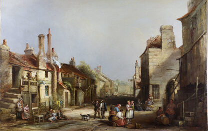 A Village High Street E. GODBY