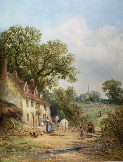 At Mountnessing, Essex JAMES EDWARD MEADOWS
