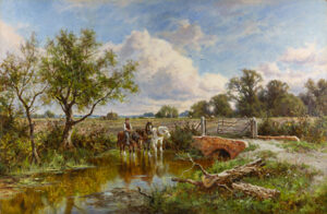 Watering the Horses HENRY HILLIER PARKER
