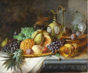 A Dessert Platter JAMES POULTON