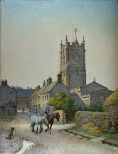 A West Country Village by JOSEPH BENWELL CLARK