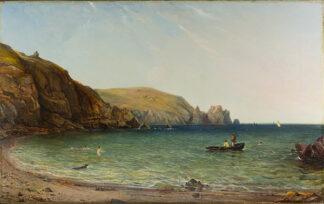 A South Coast Bay by ALFRED CLINT