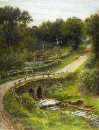 At Anstead Brook, Haslemere by FRANCIS HURST EASTWOOD