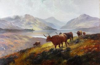 Moorland Rovers, Loch Lomond by HENRY ROBINSON HALL