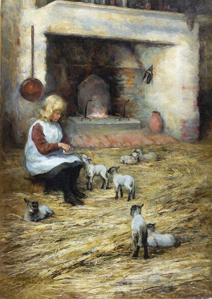Feeding the Lambs EMMA LOUISE HARDMAN