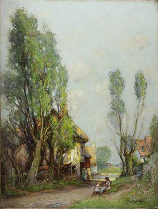 Near Houghton by WILLIAM WATT MILNE