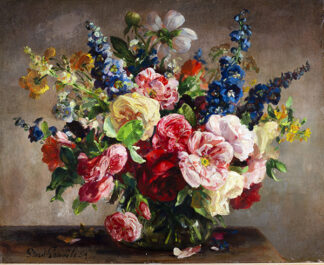 Summer Flowers by STUART SCOTT SOMERVILLE