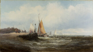 Off the East Coast by WILLIAM ANSLOW THORNLEY