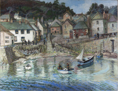 Mousehole Harbour by ISABEL WRIGHTSON